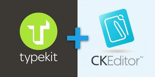 Comment intégrer Typekit à CKEditor