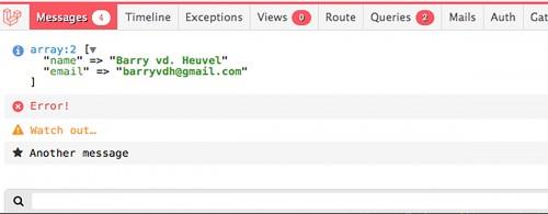 Debugger votre application facilement avec Laravel DebugBar