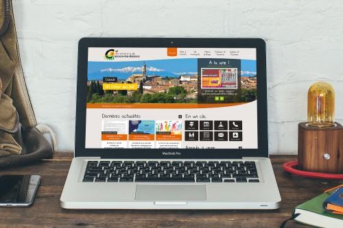 Mairie de Cazouls les Béziers - Site internet