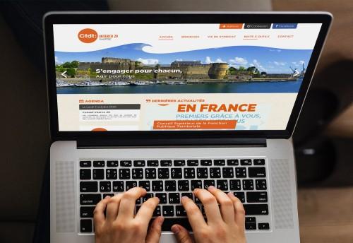 CFDT Interco 29 - Site internet