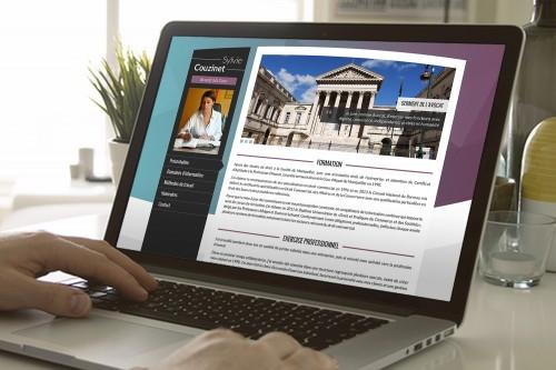 Couzinet Avocat - Site internet