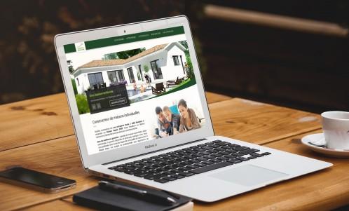 Domitia Construction - Site internet