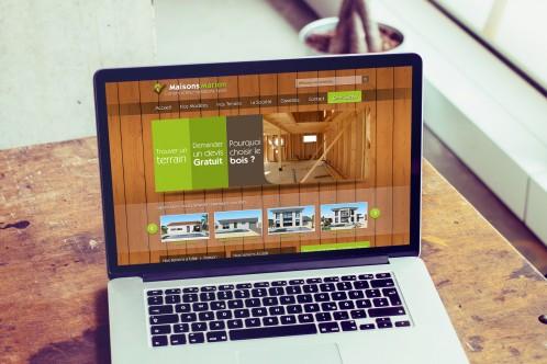 Maisons Marion - Site internet