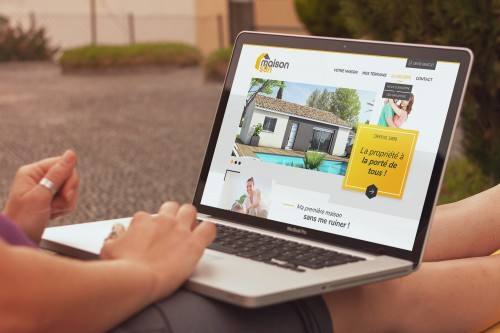 MaisonSun - Site internet