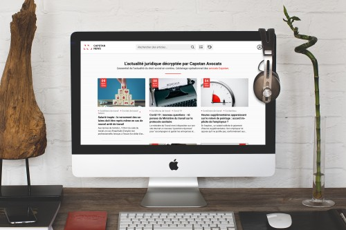 Capstan News - Site internet