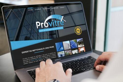 Pro-Vitre - Site internet